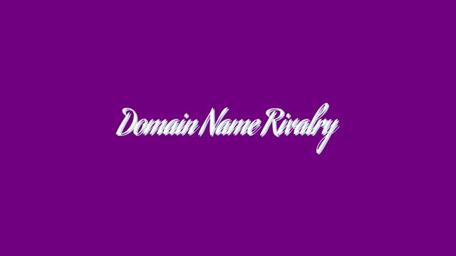 Domain Name Rivalry